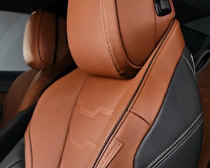 2019 BMW 8 Series Leather Seat Stitching