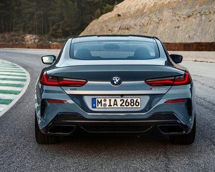 2019 BMW 8 Series Rear View