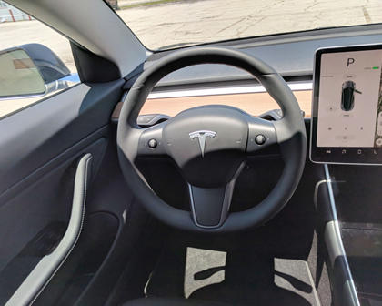 2018 Tesla Model 3 Steering Wheel