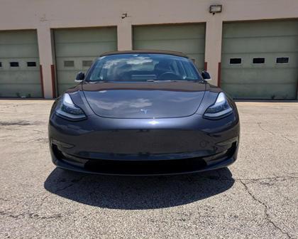 2018 Tesla Model 3 Front View