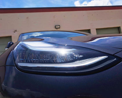 2018 Tesla Model 3 Headlights