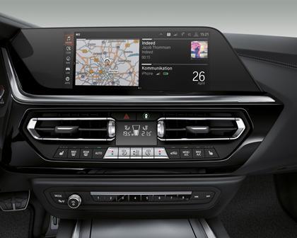2019 BMW Z4 Roadster Dashboard  Layout