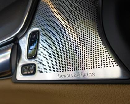 2017-2019 Volvo  V90 Cross Country Front Speaker Closeup