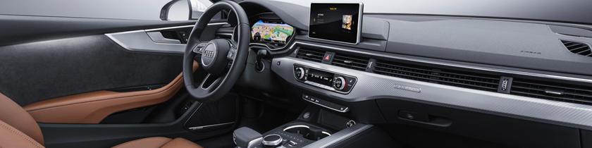 2018 Audi A5 Prestige quattro Coupe Interior Shown