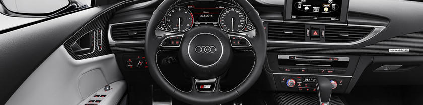 2017 Audi S7 Prestige quattro Sedan Interior Shown.