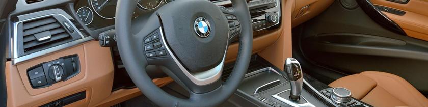 2017 BMW 3 Series 328d xDrive Wagon Interior. European Model Shown.