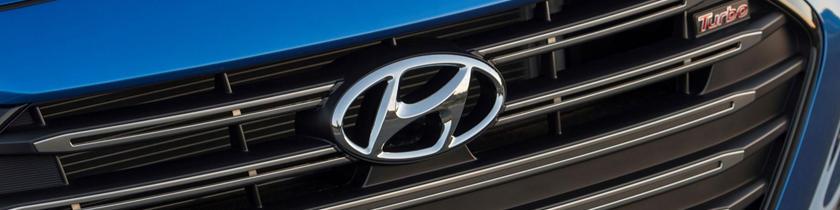 2018 Hyundai Elantra Sport Sedan Front Badge