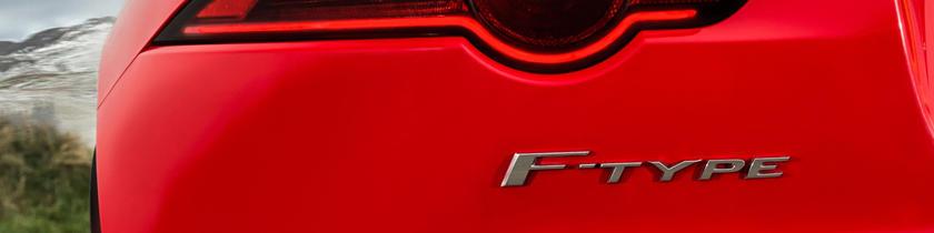 2018 Jaguar F-TYPE Coupe Rear Badge