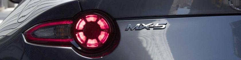 2017 Mazda MX-5 Miata RF Launch Edition Convertible Rear Badge