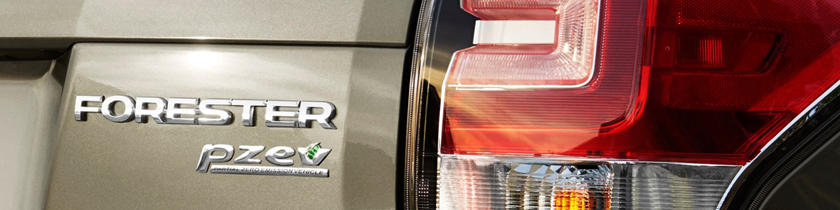 2018 Subaru Forester 2.5i Touring 4dr SUV Rear Badge