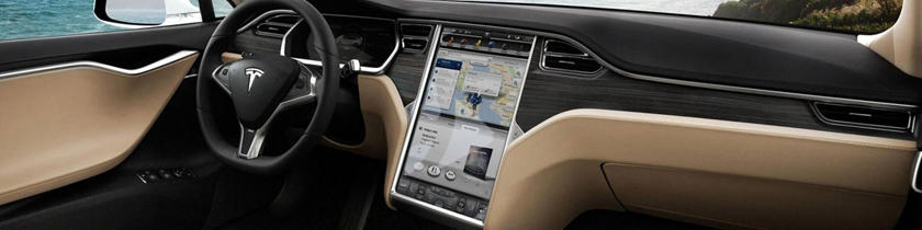 2017 Tesla Model S 90D Sedan Dashboard