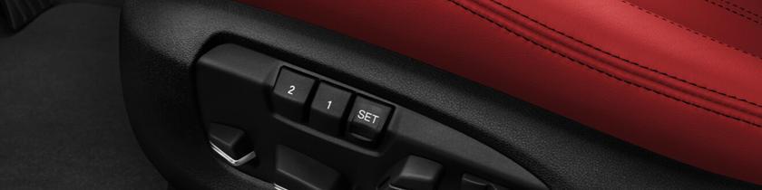 2015-2018 BMW  X5 M Seat Controls