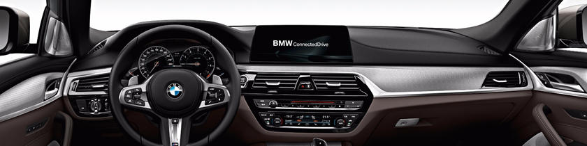 2017-2019 BMW 5 Series Sedan Dashboard  Layout