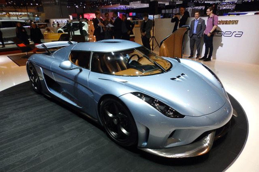 Official: Koenigsegg Regera Blends Scandinavian Luxury and Performance