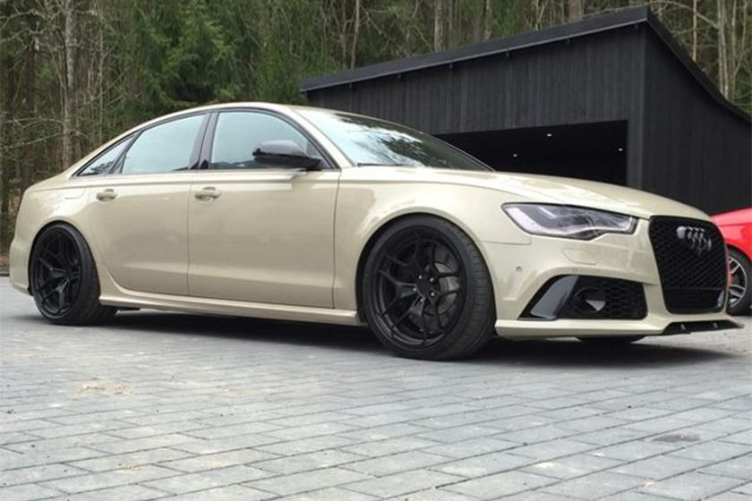 This Audi Rs6 Sedan Is A Stunning One Of A Kind Carbuzz
