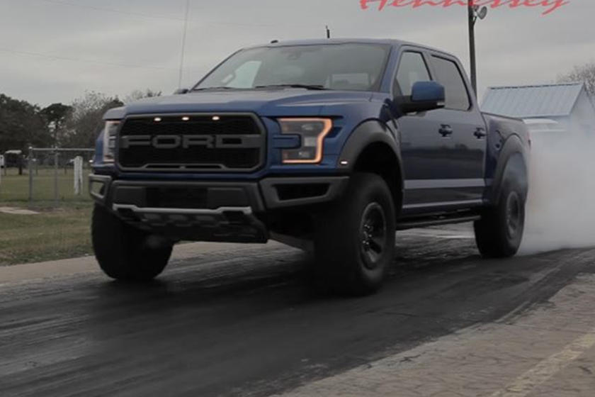 It Turns Out The 2017 Ford F 150 Raptor Does 0 60 Mph Stupidly Fast