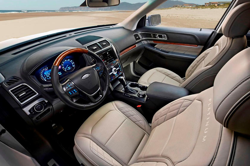 2018 Ford Explorer Review Trims Specs And Price Carbuzz