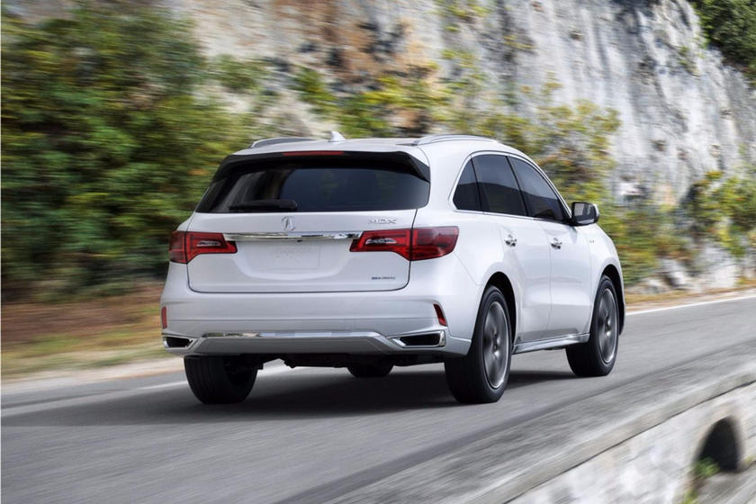 Acura MDX SUV Review Trims Specs And Price CarBuzz - Best tires for acura mdx