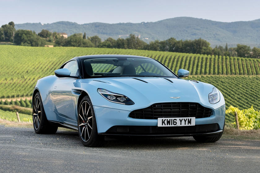 2018 Aston Martin Db11 Coupe Review Trims Specs And Price Carbuzz