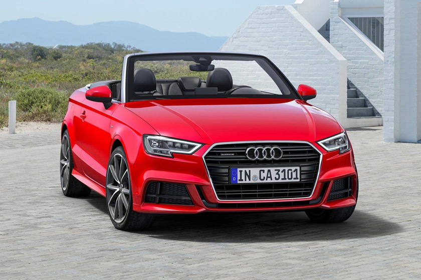 2017 Audi  A3 Convertible Front Three-Quarter Right Side View