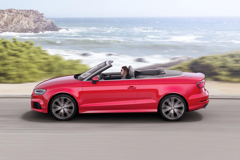 2017 Audi  A3 Convertible In Motion