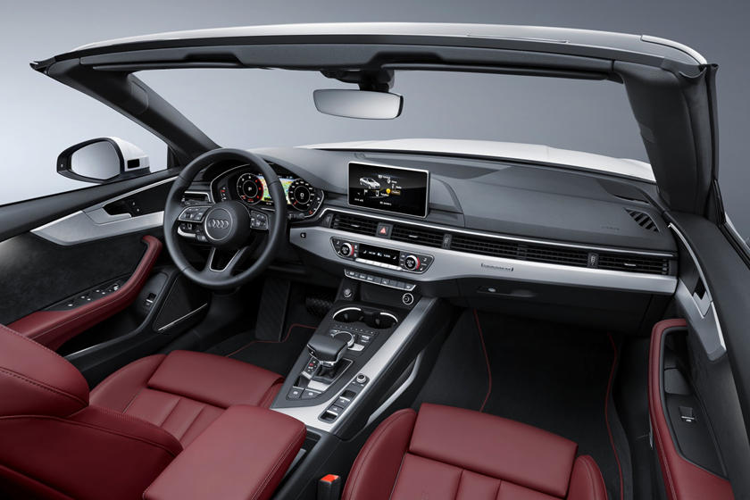 2018 Audi A5 Prestige quattro Convertible Dashboard Shown.