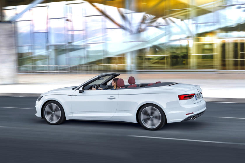 2018 Audi A5 Convertible In Motion
