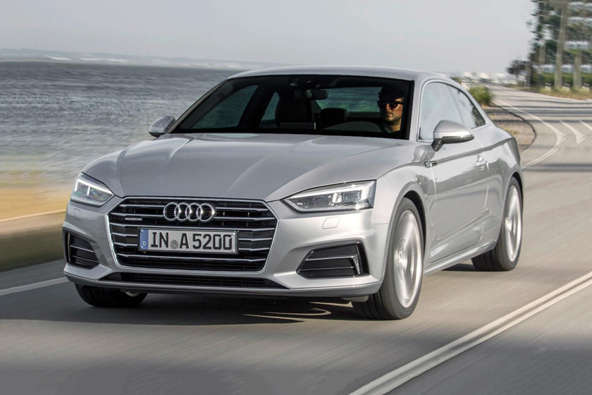 2018 Audi  A5 Coupe Front Side in Motion