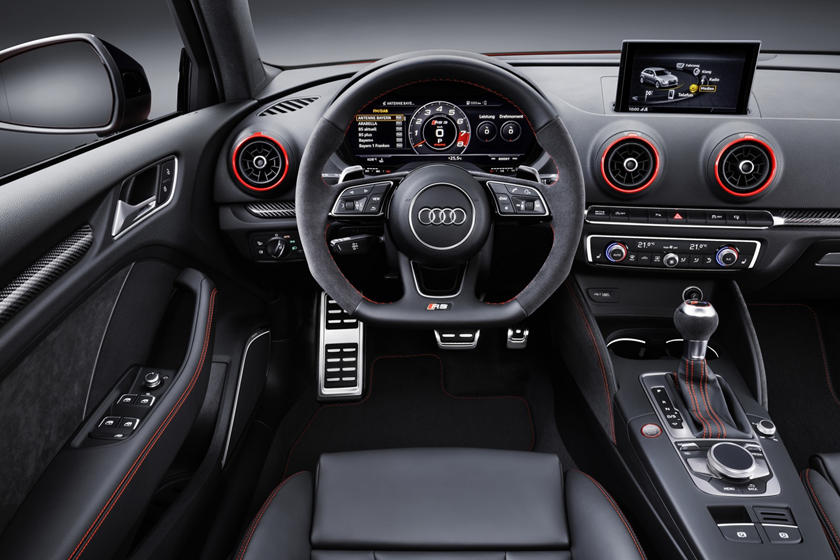 2018 Audi RS 3 quattro Sedan Dashboard