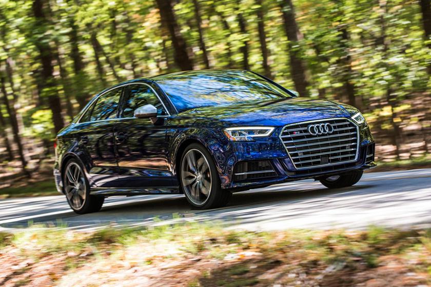 2017 Audi S3 2.0 TFSI Prestige quattro Sedan Exterior Shown
