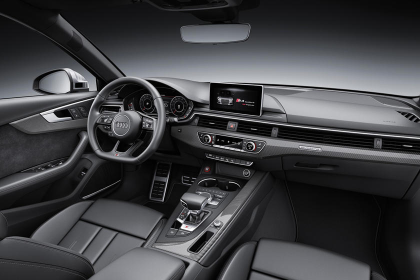 2018 Audi S4 Prestige quattro Sedan Dashboard. European Model Shown.
