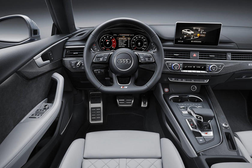 2018 Audi S5 Prestige quattro 4dr Hatchback Dashboard Shown
