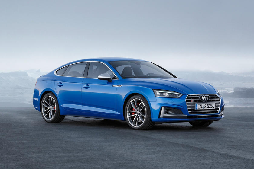 2018 Audi S5 Prestige quattro 4dr Hatchback Exterior. European Model Shown.