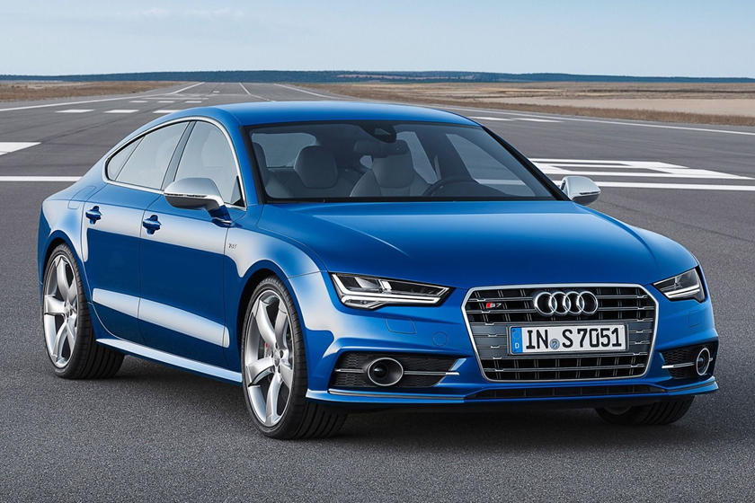 2017 Audi S7 Prestige quattro Sedan Exterior. Options Shown.