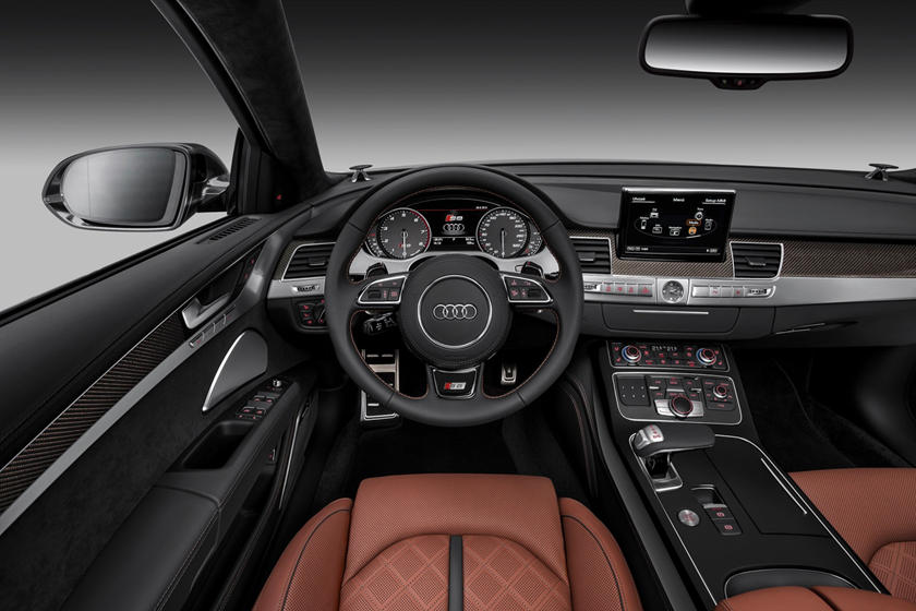 2017 Audi S8  quattro Sedan Dashboard