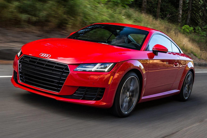 2016-2018 Audi  TT Coupe Front Side in Motion
