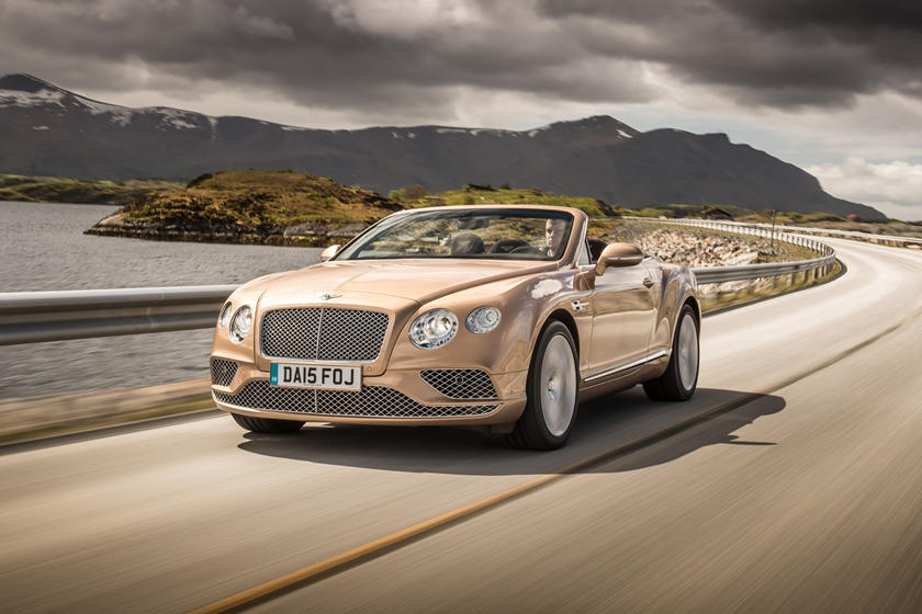 2017 Bentley Continental GT Convertible Exterior