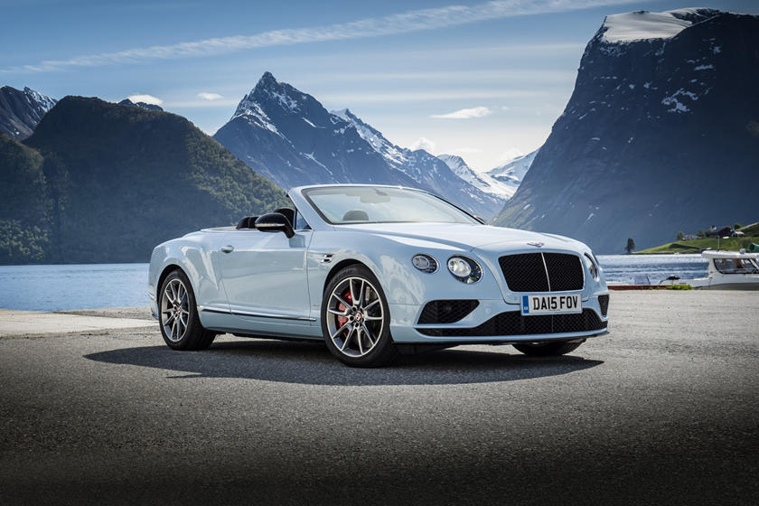2017 Bentley Continental GT V8 S Convertible Exterior