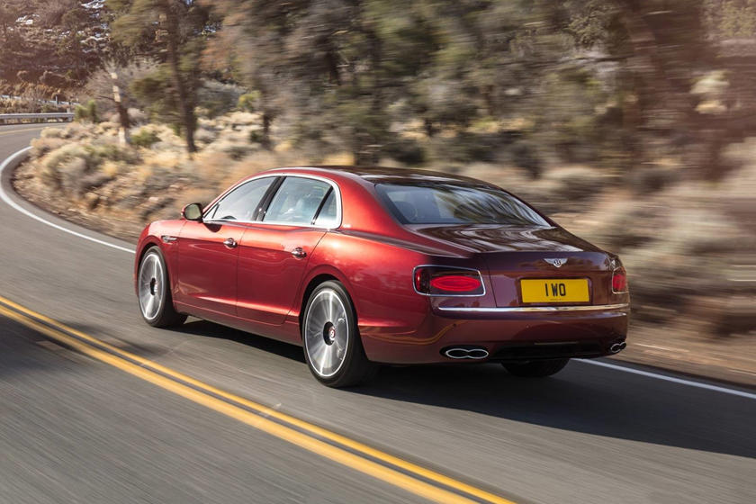 2017 Bentley Flying Spur V8 S Sedan Exterior Shown