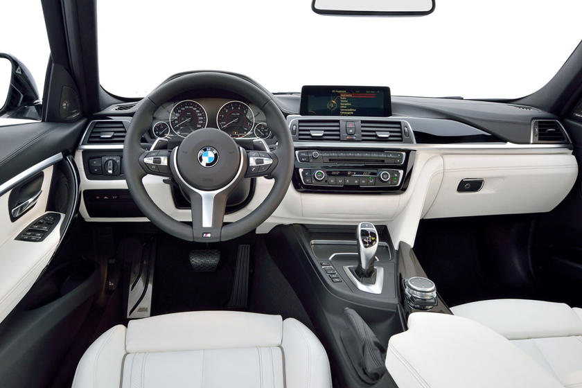 2017 BMW 3 Series 340i Sedan Dashboard. M Sport Package Shown.