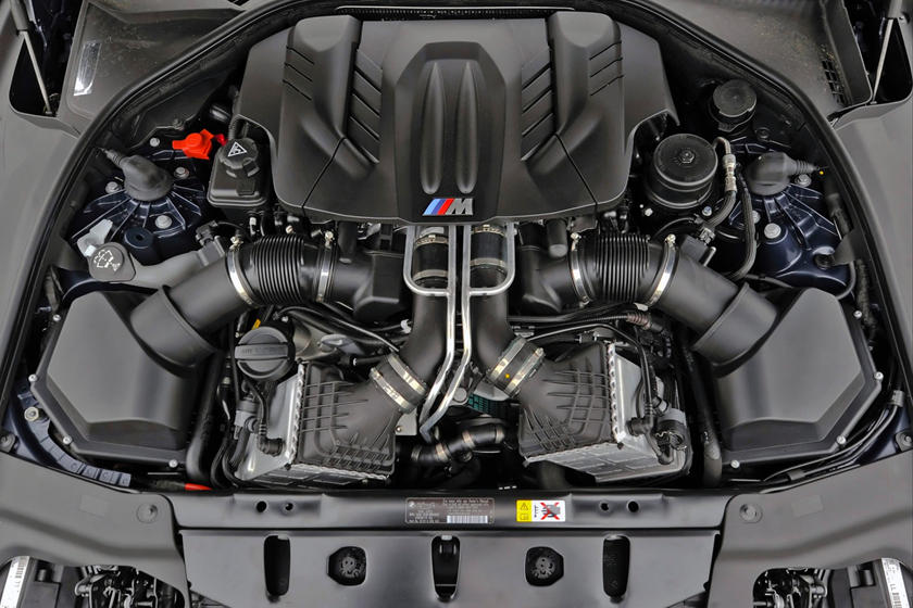 2017 BMW M6 Convertible 4.4L V8 Turbo Engine