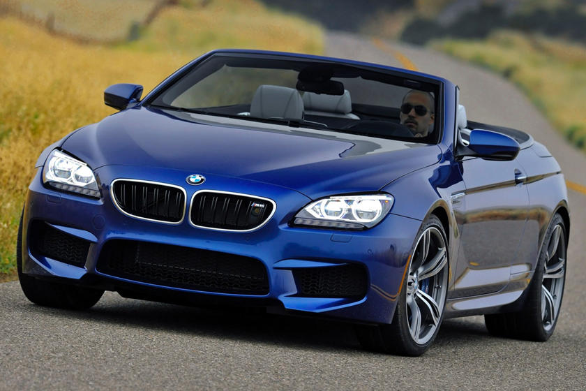 2016-2018 BMW  M6 Convertible Front Three-Quarter Left Side View