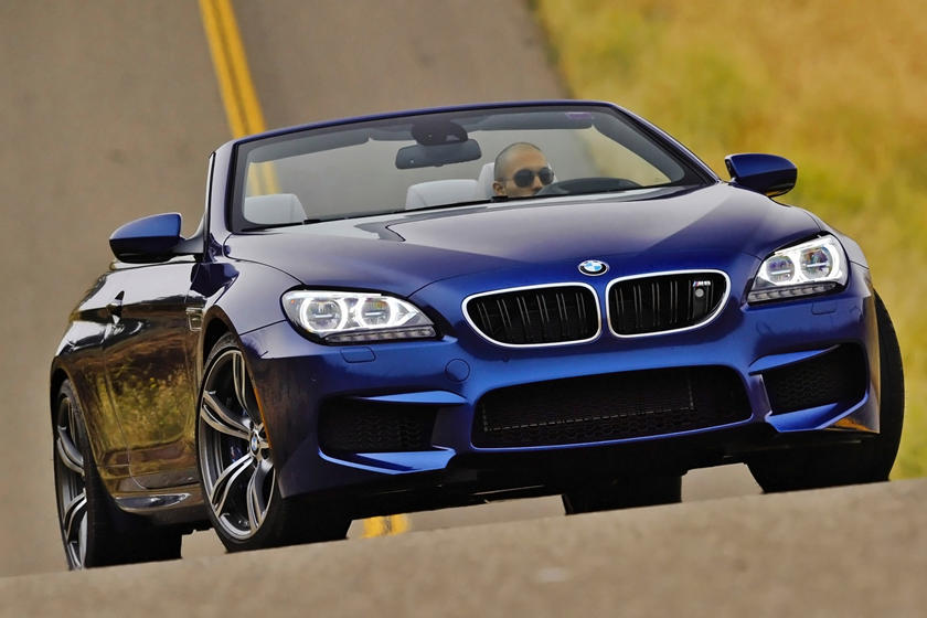 2016-2018 BMW  M6 Convertible Front Three-Quarter Right Side View