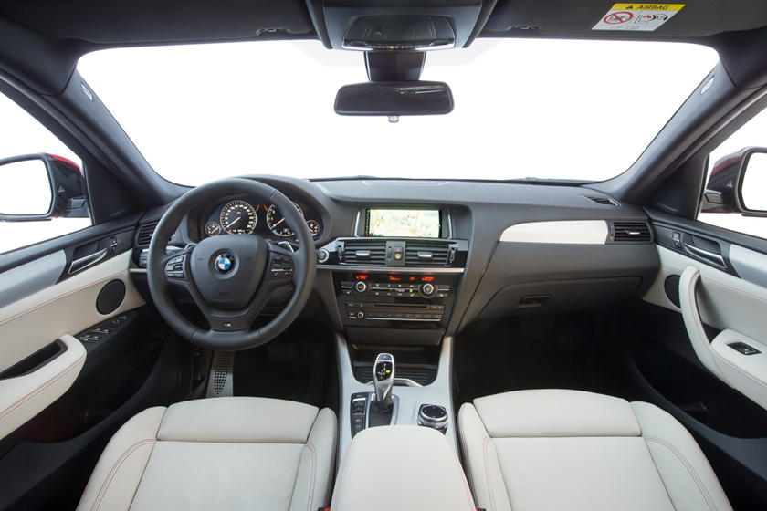 2015-2018 BMW  X4 Dashboard