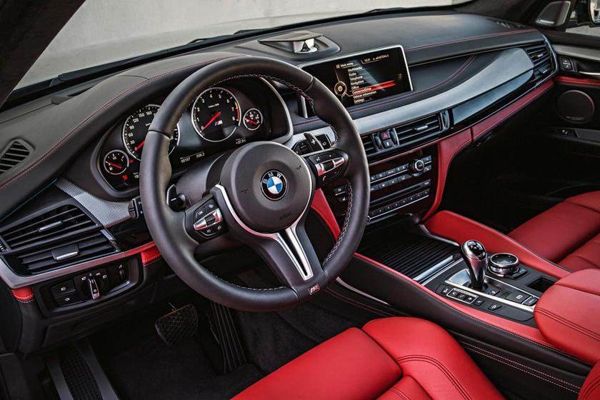 2017 BMW X5 M 4dr SUV Interior