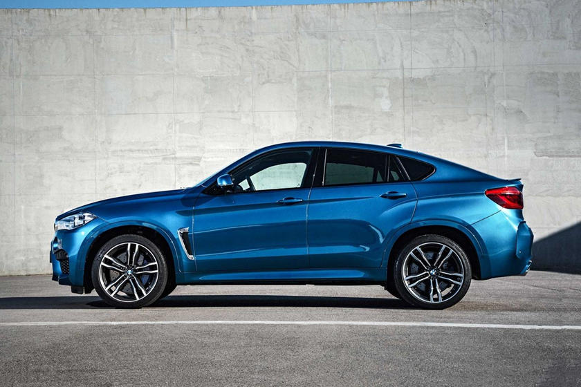 2015-2018 BMW  X6 M Left Side View