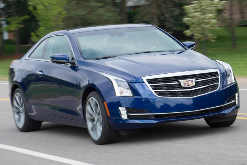 2017 Cadillac ATS Coupe Premium Performance Coupe Exterior Shown