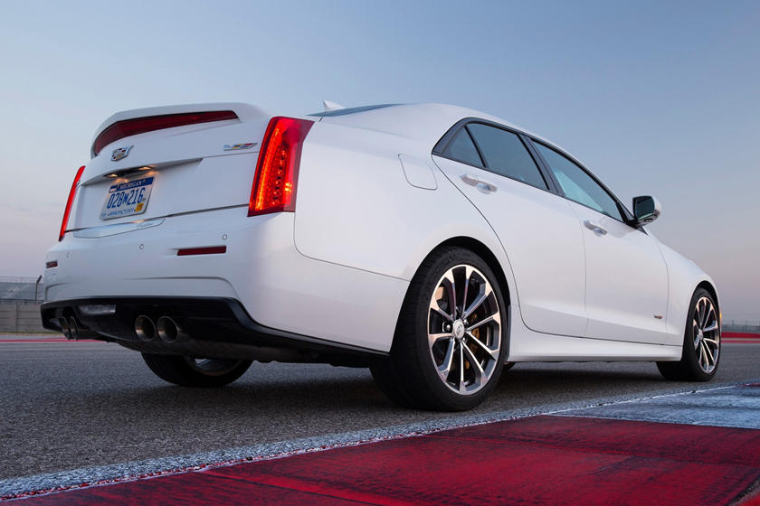 2017 Cadillac ATS-V Base Sedan Exterior
