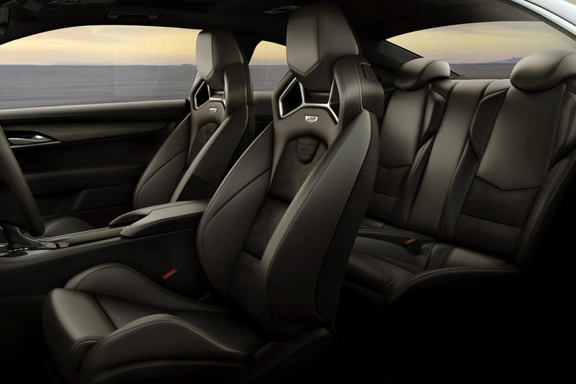 2016-2018 Cadillac ATS-V Coupe Full Passenger Seating