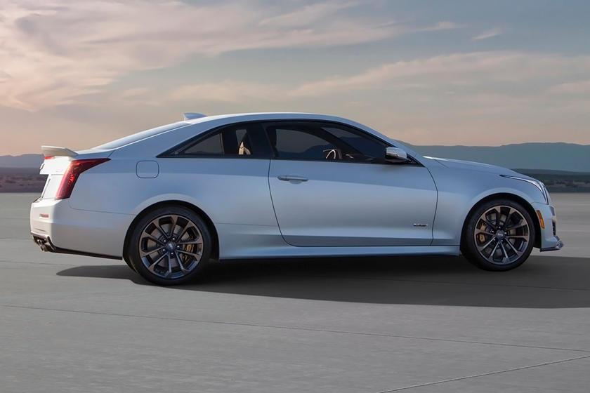2017 Cadillac ATS-V Coupe Exterior